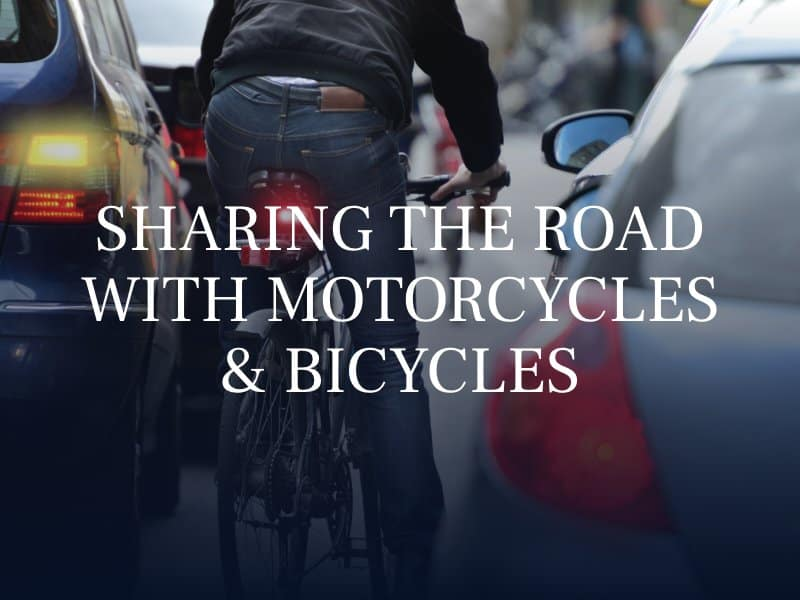 Sharing The Road With Motorcycles